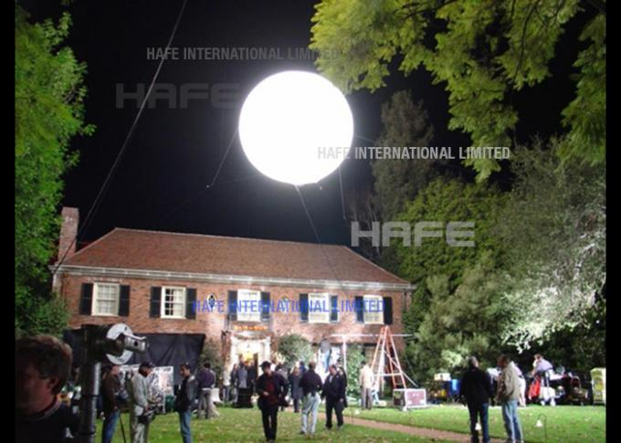 8000W Metal Halide Lamp Helium Party Balloons PVC / Polysilk With Lights In Them