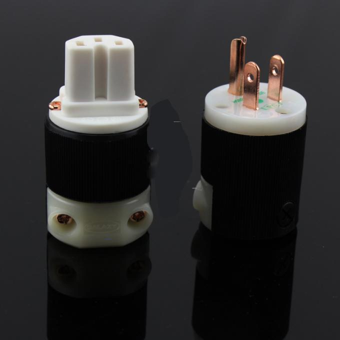 Plug Insert Electrical Lighting Accessories Female Male Plug Receptacle Connector
