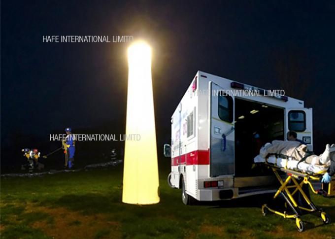 5.5 M Emergency Portable Balloon Light Tower 36000 LM For Construction Site Lighting