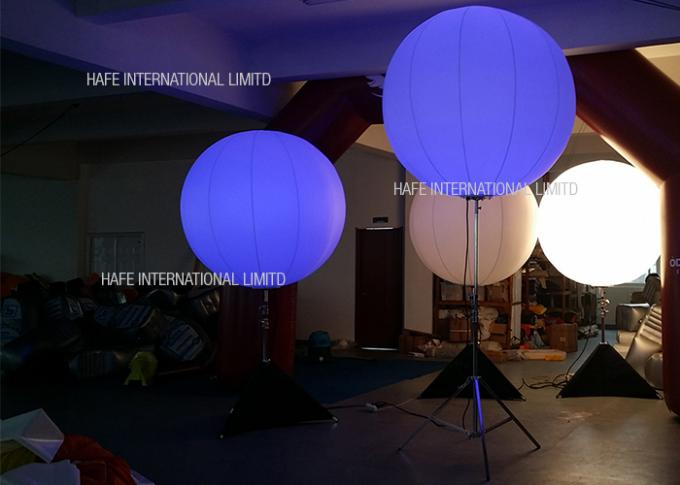 Advertising Inflatable Stand Tripod Balloon Led Lighting Dual Combination Lighting Source