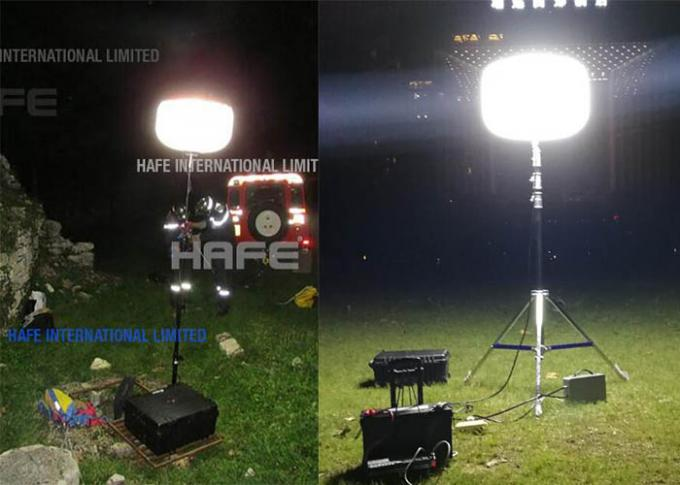 Sun Portable Rechargeable LED Lights 200w And 400W 800W 1000W Illuminate