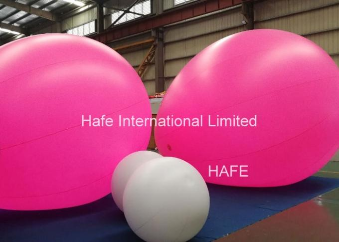 Color Changing Helium Balloon Lights , Inflatable Balloon For Advertising