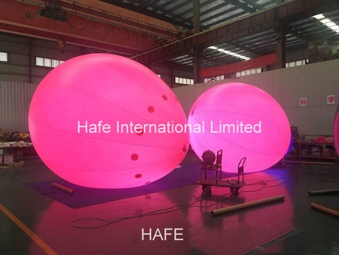 Pink Helium Balloon And Inflatable Decorations Carton Sea Dog For Events