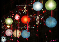 China Crystal Ground Inflatable Water Floating Balloon Light 16 Color Changing LED 36W factory