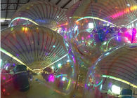 China Indoor Inflatable Mirror Balloon , Mirror Ball Decorations 1m Diameter factory