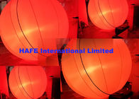 Hanging Inflatable Lighting Decoration RGBW 400W DMX Stage Lighting 2m Diameter
