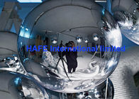 China Helium Flying Mirrored Balloon Lights For Live Show , Long Working Life factory