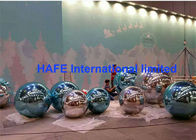 China 2-10M Subtle Acqua Accents Mirror Ball Balloons Silver Golden For Exhibition Use factory