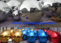 Round Inflatable Mirror Balloon Special Treated Flexible Mirror Compound Materials