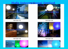White Led Balloon Lights For Outdoor Events In North Amrical And Euro