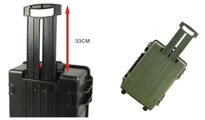 Hard Plastic Flight Road Case For Government , Flight Metal Material ABS Tool Case HicaseS5