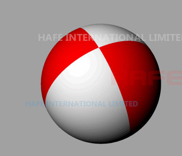 Floating 3.5m Led Inflatable Balls Bahrain National Holiday Events Design