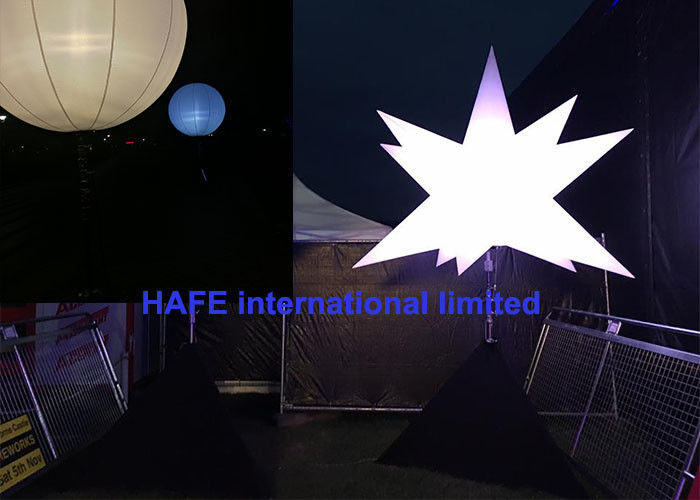 640W Inflatable LED Light With Light Area 60000 Lumens For Night Outdoor Events