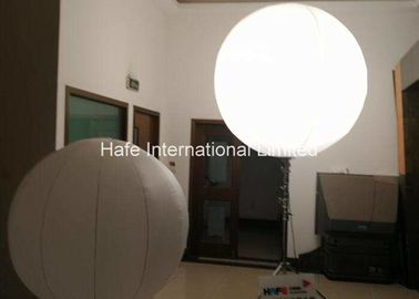 China Crystal Inflatable Balloon Light , Floating Standing Halogen Suspended Led Balloon factory
