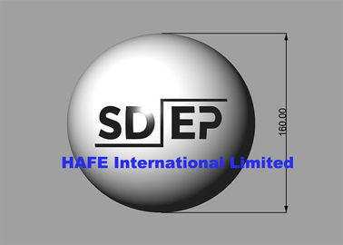 China Round Inflatable Lighting Decoration , Inflatable Balloon Light With Branding Logo factory