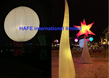 AC DC LED 640w - 800w Inflatable Lighting Decoration Moon Balloon Lighting