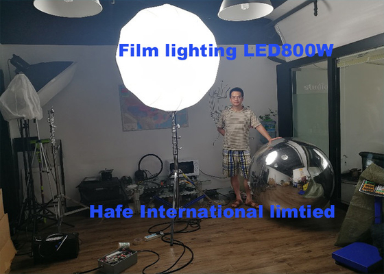 China TV / Flim Lighting Dimmable 800W LED Glare Free Lighting For Film Industry factory