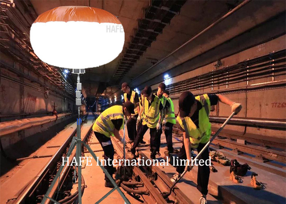 1000W Glare Free Lighting For Construction Of High Speed Rail With 110,000 L / M